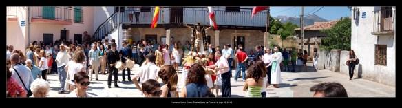 Fiestas Nava de Francia 2013 - Santo Cristo - Antonio Sendín (Luyo) P