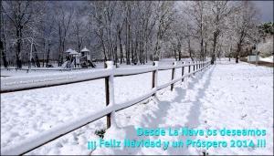 Felicitación de Navidad 2013-2014 - Nava de Francia