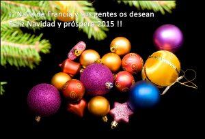 Felicitación Navidad 2014-2015 Nava de Francia.