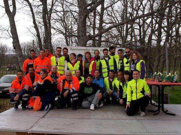 Voluntarios Carreras Populares Nava de Francia