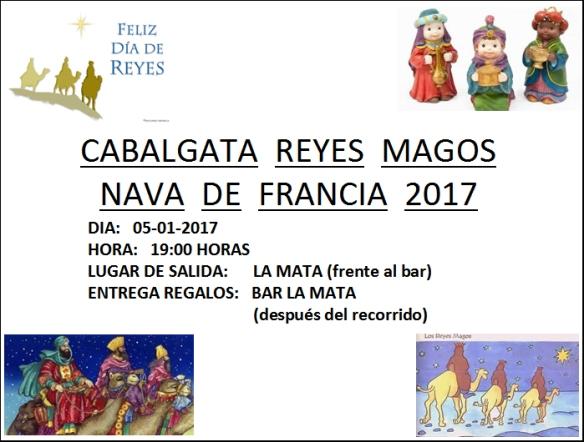 Nava de Francia - Cabalgata Reyes Magos 2017